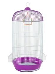 BirdLife - Birdlife 9001-2 Boyalı Silindir Kuş Kafesi 33,5x71cm