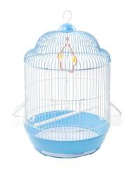 BirdLife - Birdlife Boyalı Silindir Kuş Kafesi 33,5x53cm