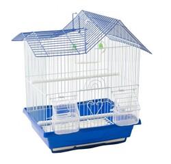 BirdLife - Birdlife Çift Kapılı Villa Kuş Kafesi 30x23x39cm