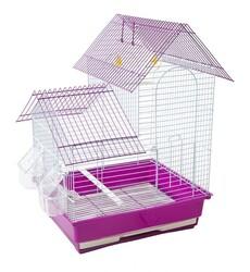 BirdLife - Birdlife Çift Kapılı Villa Kuş Kafesi 34,5x28x46cm