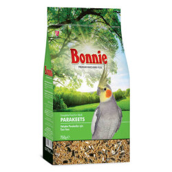 Bonnie - Bonnie Yetişkin Paraketler Kuşları İçin Tam Yem 750g/6 lı