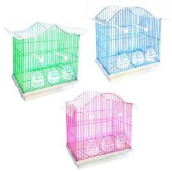 Fatih-Pet - Sencer Kafes 003 Boyalı Üçlü Kafes Seti 55x32,5x49,5 cm