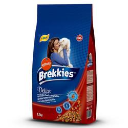 Brekkies - Brekkies Cat Delice Tavuklu ve Sebzeli Kedi Maması 1,5 Kg