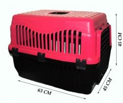 Apco - Büyük Kedi/Köpek Taşıma Kabı Voyager (Plastik Kapılı)