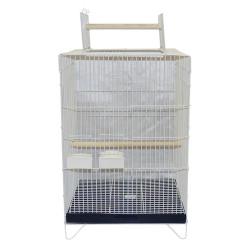 Getreide - C403 Beyaz Papağan Kafesi Büyük