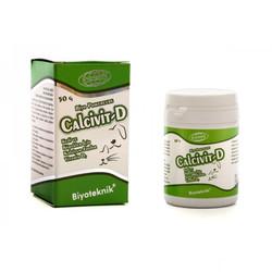 Biyoteknik - Calcivit-D Kedi&Köpek Vitamin-Mineral Takviyesi 50g