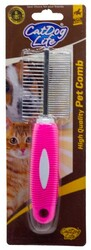 Cat&DogLife - 202403 CATDOGLİFE Kedi ve Köpekler için Çift Taraflı Tarak