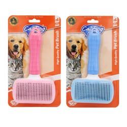 Cat&DogLife - 201004 CATDOGLIFE Kedi ve Köpekler İçin İnce Telli BAsmalı Fırça