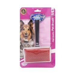 Cat&DogLife - 201045 CATDOGLIFE Kedi ve Köpekler İnce Telli Fırça (M)