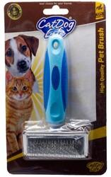 Cat&DogLife - CAT&DOGLİFE Küçük Boy İnce Telli Fırça Silikon Saplı