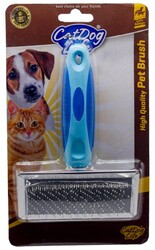 Cat&DogLife - CAT&DOGLİFE Orta Boy İnce Telli Fırça Silikon Saplı