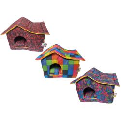 Fatih-Pet - Çatılı Dış Mekan Kedi&Köpek Evi