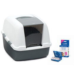 CATIT - Catit Magic Blue Litter Box Jumbo 57x46,5x43 cm