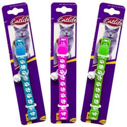 CatLife - CATLIFE 202594 Kediler için Zilli Boyun Tasması Mix Renk