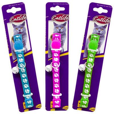 CATLIFE 202594 Kediler için Zilli Boyun Tasması Mix Renk
