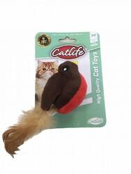 CatLife - CATLIFE 203080 Tıtreşimli Tüylü Kuş Kedi Oyuncağı