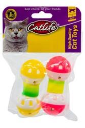 CatLife - CATLIFE Zilli Kedi Oyuncağı 2li Paket