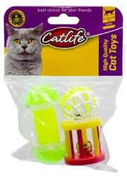 CatLife - CATLIFE Zilli Kedi Oyuncağı 3lü Paket