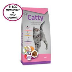Catty - Catty Adult Chicken Tavuklu Yetişkin Kedi Maması 1 Kg