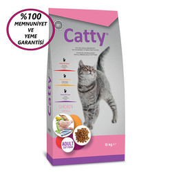 Catty - Catty Adult Chicken Tavuklu Yetişkin Kedi Maması 15 Kg