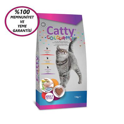 Catty Adult Colour Mix Yetişkin Kedi Maması 1 Kg