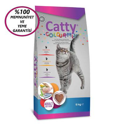 Catty Adult Colour Mix Yetişkin Kedi Maması 15 Kg