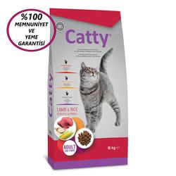 Catty - Catty Adult Lamb&Rice Kuzulu Yetişkin Kedi Maması 15 Kg