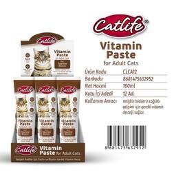 CatLife - CLCA12-CatLife Yetişkin Kediler için Vitamin Paste 100ml