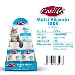 CatLife - CLCA13-CatLife MultiVitamin Tabs 150 tablet
