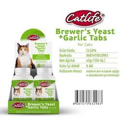 CatLife - CLCA14-CatLife Brewers Yeast ve Sarımsak Tableti 150 tablet