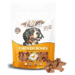 CroCus - Crocus Chicken Bones Tavuk Etli Tahılsız Köpek Ödülü 80g