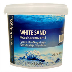 Crystalpro - Crystalpro White Sand Kalsiyum Kumu 25 Kg