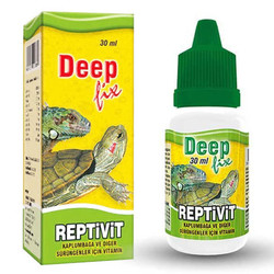 Deepfix - Deep Reptivit Kaplumbağa Vitamini 30 ml