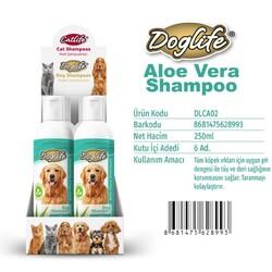 DogLife - DLCA02-DogLife Aloevera Özlü Köpek Şampuanı 250ml
