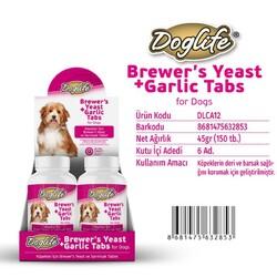 DogLife - DLCA12-DogLife Brewers Yeast ve Sarımsak Tableti 150 tablet