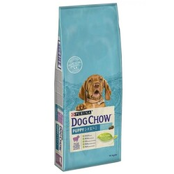 Pro Plan - Dog Chow Yavru Köpek Maması Kuzu Etli 14 kg