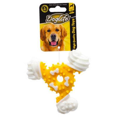 DOGLIFE 202456 Köpekler için Kauçuk Dental Bone Oyuncak