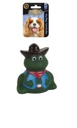 DogLife - DOGLIFE Köpekler için Frog With Hat Oyuncak