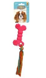 DogLife - DOGLIFE Köpekler için İpli Bone Oyuncak