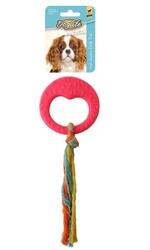 DogLife - 202815 Köpekler İçin İpli Ring Oyuncak