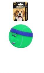 DogLife - DOGLIFE Köpekler için Plastik Tennis Ball With Head Band Oyuncak