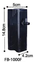 Dophin - Dophin FB1000 İç Filtre 300l/h