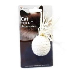 Eastland - Eastland Düğümlü İp Kedi Oyuncağı Çap 4,5 cm