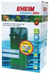 Eheim - Eheim CLassic 250 2213-02 Dış Filtre 8 W 250 L-440 L/s Musluklu