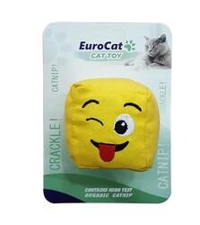 EuroCat - EuroCat Kedi Oyuncağı Dil Çıkaran Smiley Küp