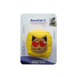 EuroCat - EuroCat Kedi Oyuncağı Kedi Suratlı Küp