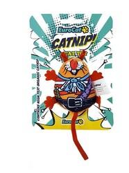 EuroCat - Eurocat Kedi Oyuncağı Turuncu Çıngıraklı Tombik Fare