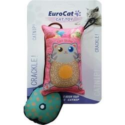 EuroCat - Eurocat Kedi Oyuncağı Yastık Kedi