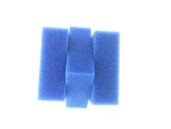 White Balance - Filtre Süngeri Kalın Gözenekli Mavi 100 PP 16,5x16,5x6 cm