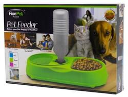 Fatih-Pet - Finepet Kedi ve Köpekler için Otomatik Su ve Mama Kabı